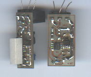 simple electronics, solder side